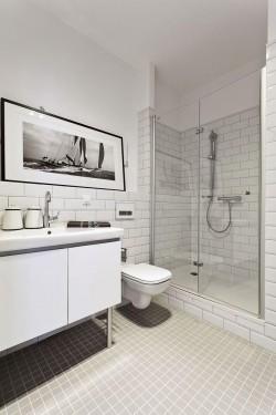 Как класть плитку на стену в ванной комнате — высота укладки кафеля