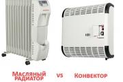 Что лучше конвектор или масляный радиатор — мнение экспертов
